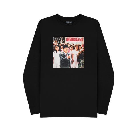 Immigrant Cover Longsleeve + Digital Album