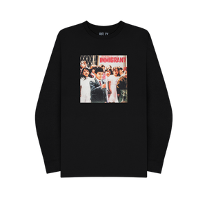 Belly Immigrant Cover Black Longsleeve