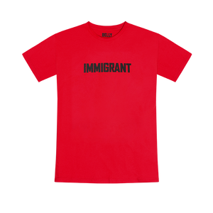 Immigrant Red T-Shirt + Digital Album