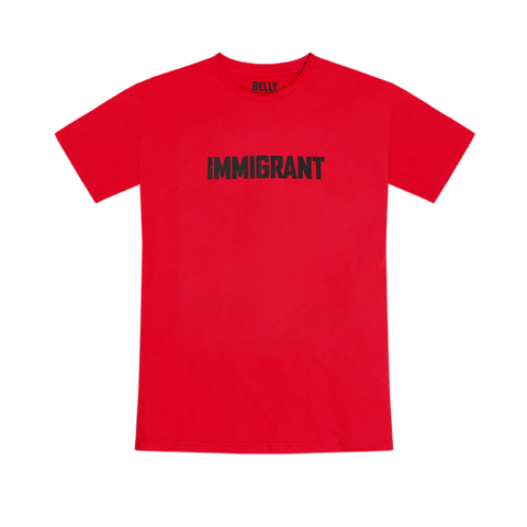 Belly Immigrant Red T-Shirt