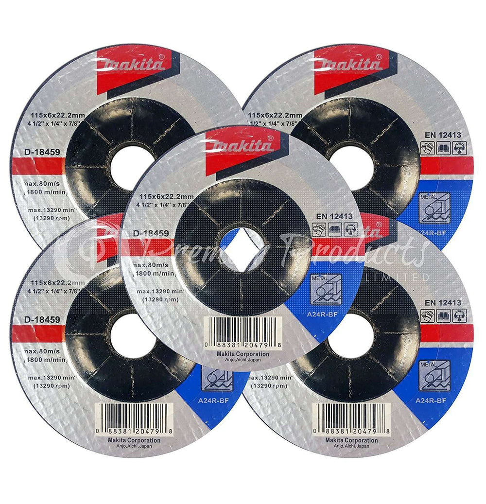 4.5 Grinding /& Cut Off Wheel Wire Cup Set For Grinders Cut /& Condition For Metal 4-1//2 x 7//8-Inch /& 3 Inch Cup Grind Makita 16 Piece