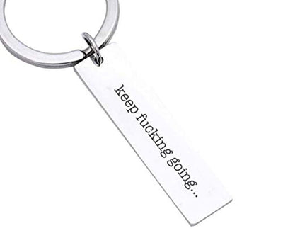 IFB-Funny Keychains for Best Friends-Fucking Birthday Keychain for Boyfriend Collegue Soul Sister or Brother Husband Gifts- Motivational Friendship Keychain and Gifts for Men and Women