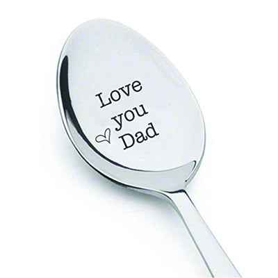 Love You Dad Engraved Spoon Gifts For Father's Day