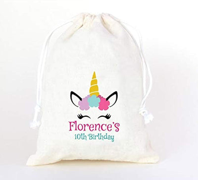 Unicorn| Favor Bags| Kids Birthday Custom Party Bags |Party favors for kids.
