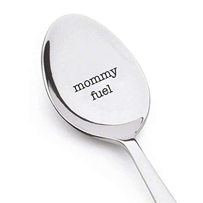 Engraved Spoons-Coffee Lover-Silver ware Under $20-Best Selling Gift for Mother#SP_044