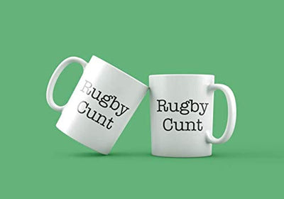 Ideas from Boston- RUGBY CUNT mugs, Fucking quotes, Gift For friends, Funny proposals, Mugs for Bitch, Ceramic coffee mugs, Rugby cunt cup.