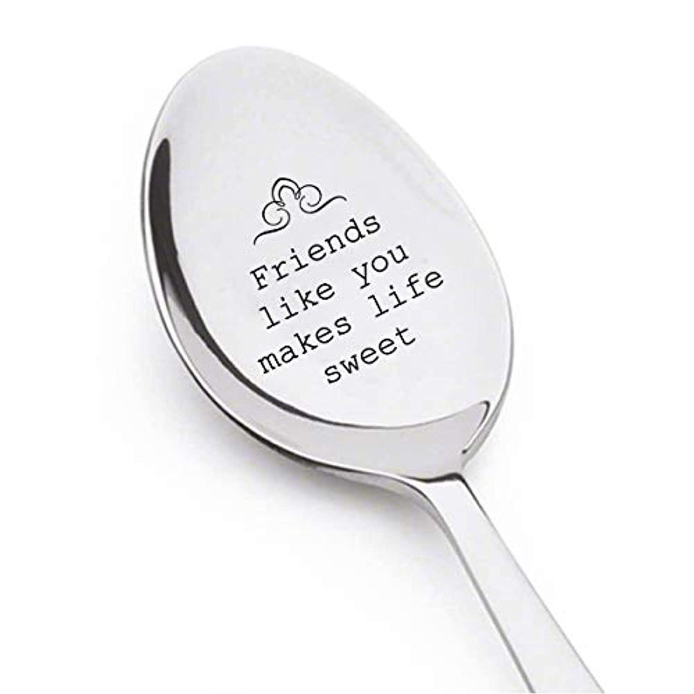 Engraved Spoon Gift For BFF