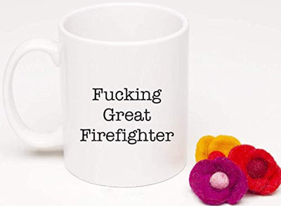Ideas from Boston- FUCKING GREAT FIREFIGHTER, Best Firefighter, Gift For Ff, Funny proposals, Mugs for FF, Ceramic coffee mugs, Firefighter cups.