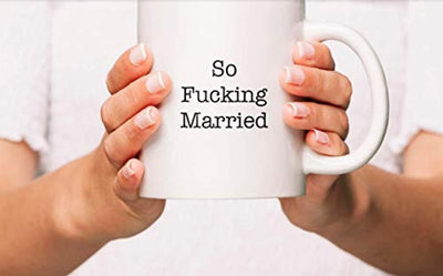 Ideas from Boston- SO FUCKING MARRIED Mug, Happily Married, Gift For couple, Funny proposals, Mugs for friends, Ceramic coffee mugs, Fucking married cup