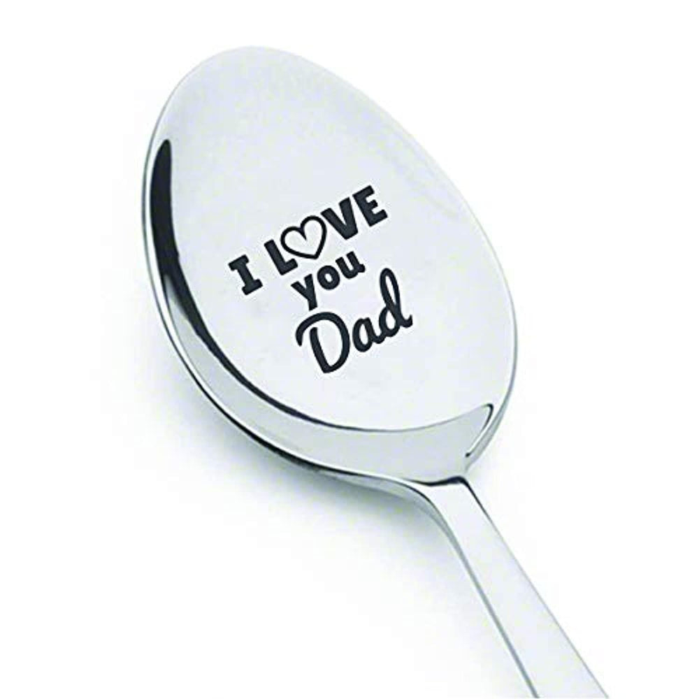 Fathers day best gifts |Dad gift from daughter | Daddy gifts for Christmas/thanksgiving/birthday |Easter basket gift ideas| Best dad ever | I love you dad Personalized engraved spoon gift from son