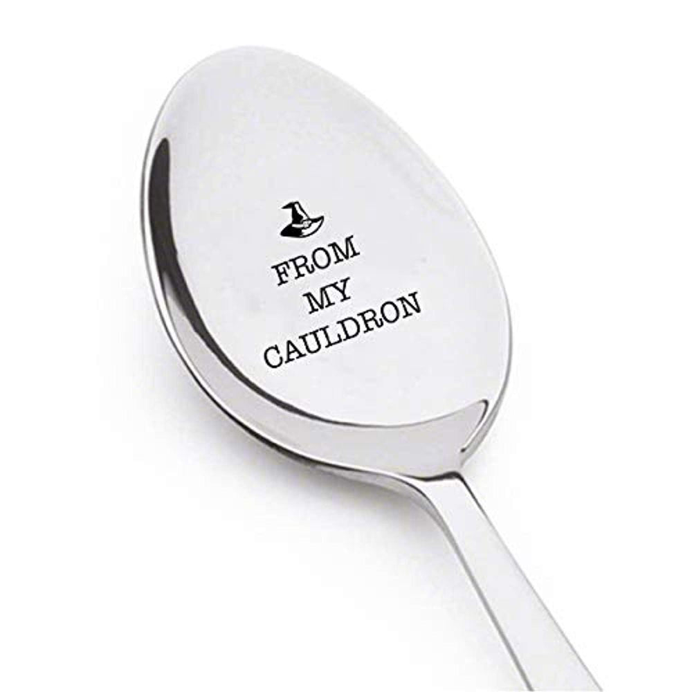 From My Cauldron Engraved Stainless Steel Perfect Cute Token Of Love Gift For Best Friends Lovers Valentine On Birthday Anniversary And Special Occasions