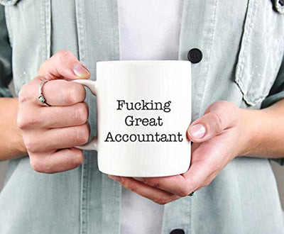 Ideas from Boston- FUCKING GREAT ACCOUNTANT, Best accountant, Gift For accountant, Funny proposals, Mugs for accountant, Ceramic coffee mugs accountant, Accountant cup