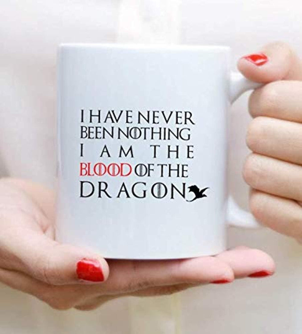 Game of Thrones lovers - I am The Blood of Dragon Coffee Mugs Gift