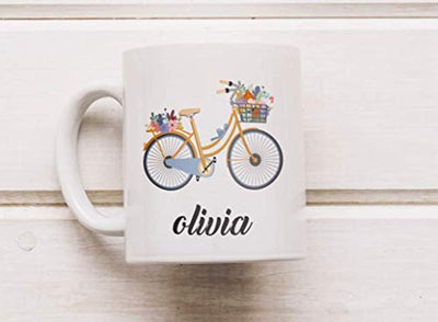 OLIVIA Coffee Mugs | William Shakespeare's Character Coffee Mug | Gift For Friends and Sister | Ceramic coffee mugs