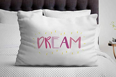 Dream Pillow Cover | Cute Decorative nap Pillows for Bedroom | Unique Gifts for Birthday House Warming Gift