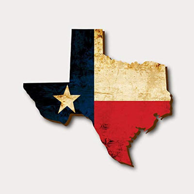 Boston Creative company Wooden Texas Flag Rustic Wooden Signs Texas Home Decor Wood Texas Flag State Wooden Cut Out Patriotic Home Decor State Cutout