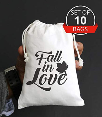 Fall In Love Favor bag For Bridal Shower Return Gift