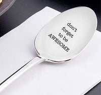 Engraved Stainless Steel Spoon-Token of Love Inspirational Gifts for Best Friends Loved Ones
