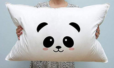 Kids pillow cover| Panda  | Home Decor Ideas | Christmas Cute Funny Gift Ideas