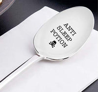 Anti Sleep Potion  Funny Spoon Gift for Sleepy Friends