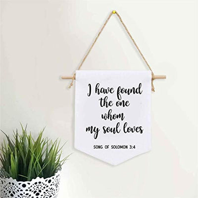 Romantic Wall Banner Gift For Wife