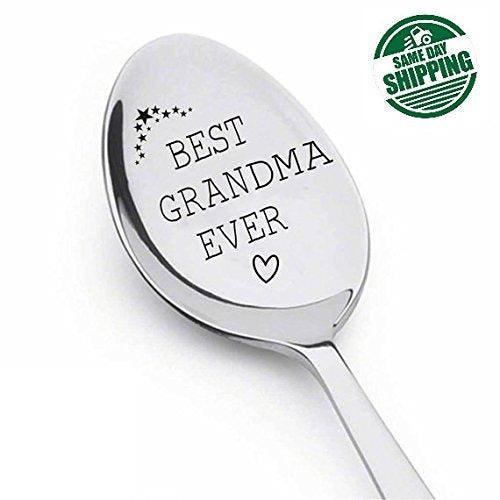 Best Grandma Ever Spoon ,Grandma gift,gifts for grandma,best selling item - BOSTON CREATIVE COMPANY