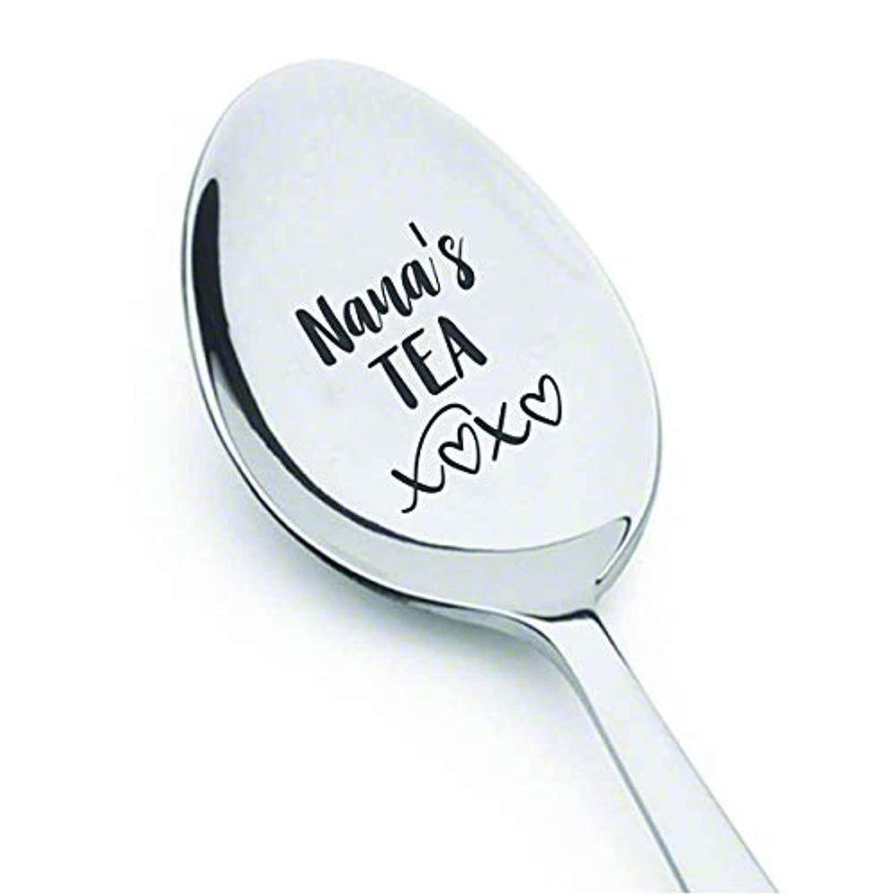 Engraved Spoon Mother's day Gifts For Grandma