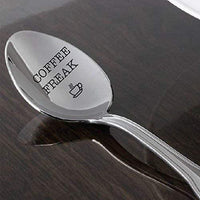 Coffee Freak spoon gift for friend Coffee Lover gifts  mom dad best ever gifts