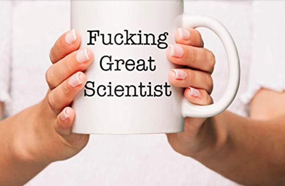Ideas from Boston- FUCKING GREAT SCIENTIST, Best scientist, Gift For scientist, Funny proposals, Mugs for scientist, Ceramic coffee mugs, scientist cup.