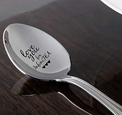 Love You Engraved Spoon Gift
