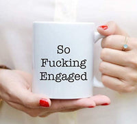 Engagement Mug Gift For Couple, Friends