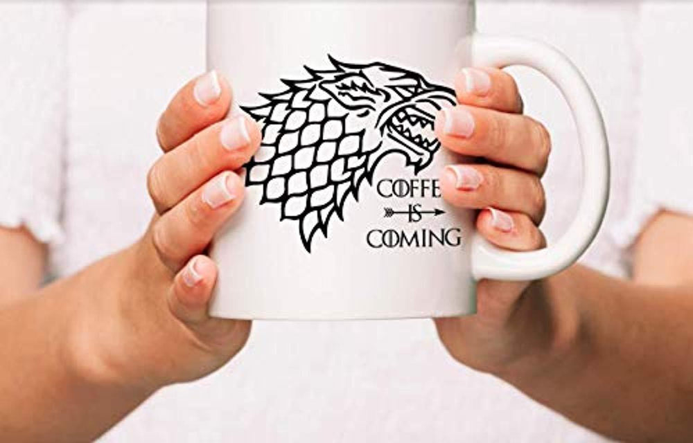 Coffee Is Coming Coffee Mugs For  Game of Thrones Lovers