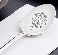 Top Engraved Spoon Gift For Mom