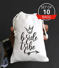 Bride Tribe | Favor bags |  Party Supplies | Bridal Favor Bags