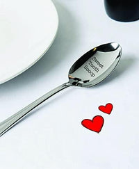 Sweet Tooth Scoop - Engraved Spoon - coffee lover gifts - lover gifts - Bon Bon Spoon - keepsake gifts - Candy Spoon - Birthday gifts