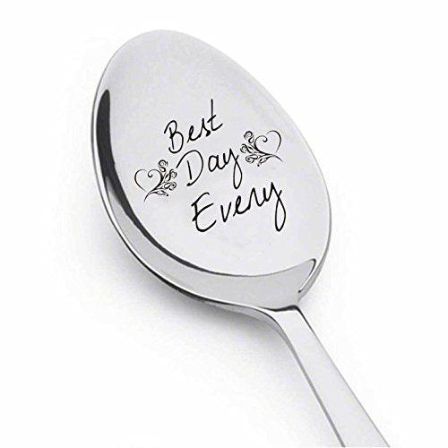 Love sign - Lover gift - Best Day Every- Valentines Day Gift - Cute Unique Gift - Best Selling Item - Spoon Gift#SP_061 - BOSTON CREATIVE COMPANY