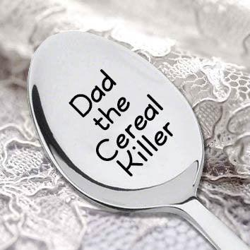 Cereal Killer Spoon (DAD THE CEREAL KILLER) - BOSTON CREATIVE COMPANY