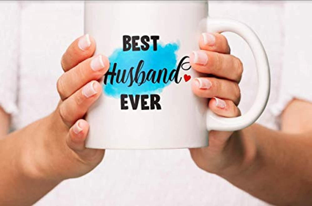 Ideas from Boston- BEST HUSBAND EVER mug, Husband coffee mug, Gift For my Husband, LoveQuotes, Mugs for Hubby, Ceramic coffee mugs
