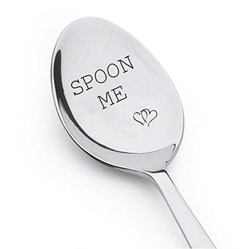 Spoon Me With Couple Heart - Boyfriend Gift - Birthday Gift