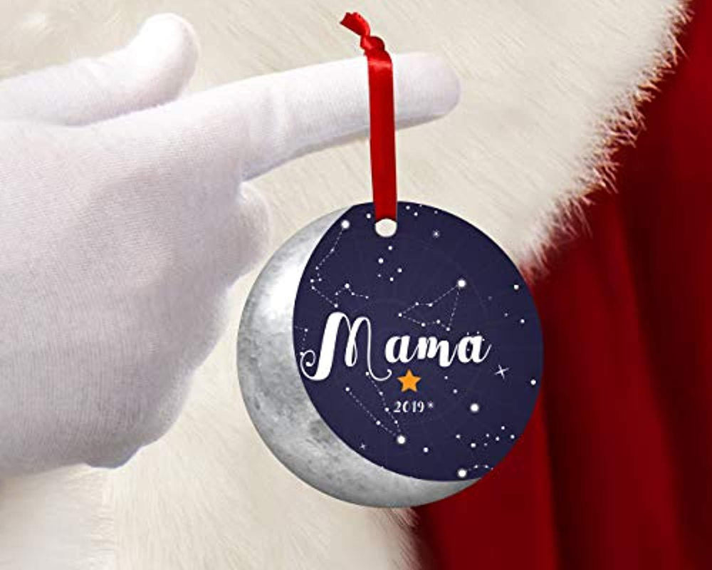 Mama 2019 Christmas Tree Ornaments For First Christmas As New Mother Boston Creative Company