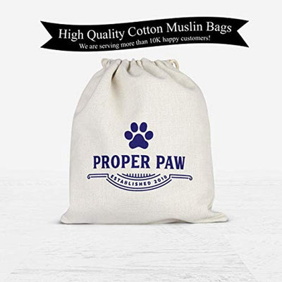 Personalized logo print drawstring bags| Proper paw designed
