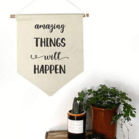 Motivational Wall Art Canvas Banner