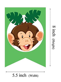 Ideas from Boston- Safari baby shower banner, Baby Shower Boy Party Decoration, Safari Theme Monkey Animal, Safari Zoo Animal Baby Shower decoration, Banner i'ts a boy jungle baby shower Party supplie