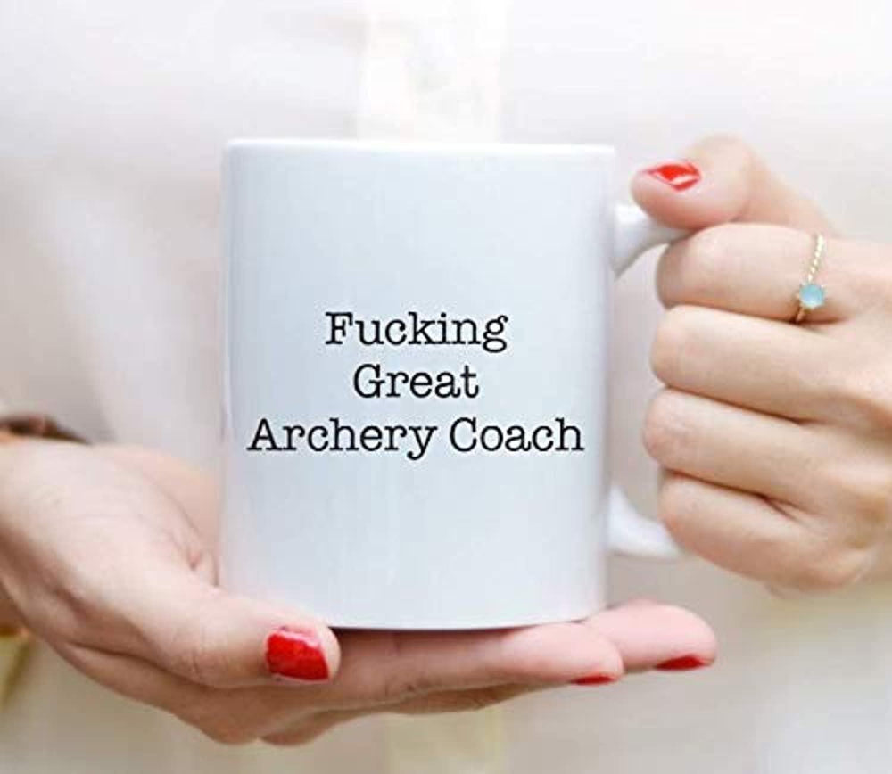 Best Archery Coach Coffee Mugs-Funny Proposal Mugs for Archery Coach