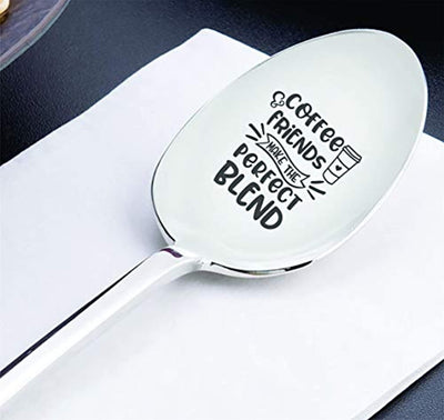Best friend gift for women | Funny best friend Christmas gift ideas | Teenager gift | BFF gift |Going away gift for friends | Lady tribe gift idea | Last minute girl gang engraved spoon gift