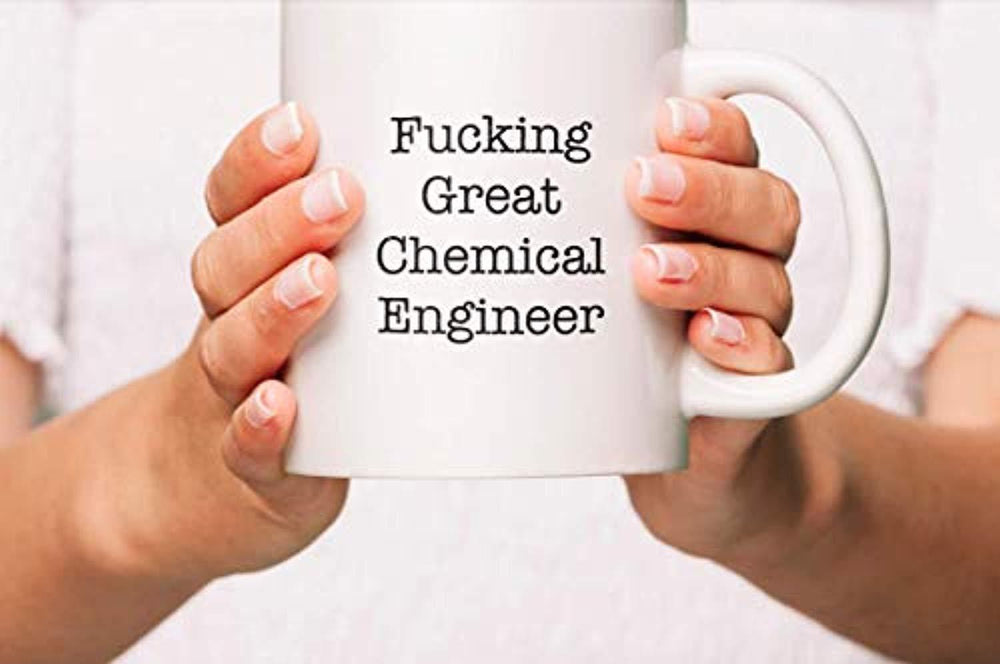 Fucking Great Chemical Engineer Coffee Mug | Gifts for Engineer Friends | Motivational Gifts 2019 | Engraved Ceramic Coffee Mugs.