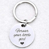 Best Stainless Steel Keychain Gifts for Mom Dad Gifts from Daughter