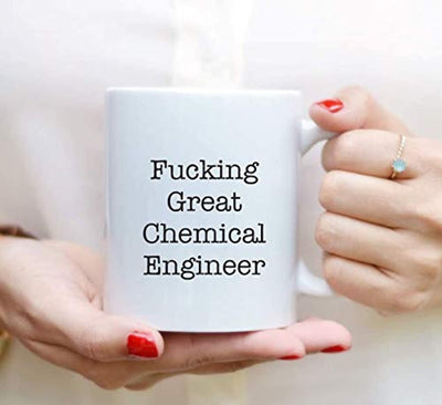Ideas from Boston-Fucking great Chemical engineer mug, Gifts for engineer friends, Gift For Sister Brother, Funny proposals, Students mug, Ceramic coffee mugs