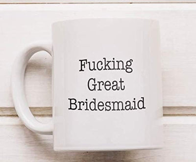 Ideas from Boston- FUCKING GREAT MAID OF HONOR MUG, Best maid of honor, Gift For Maid of honor, Funny proposals, Mugs for family friends, Ceramic coffee mugs for Maid of honor, Maid of honor Cup