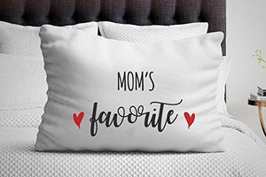 Mom gifts - Pillow cases - Grandma Gifts - Mom's favorite - Gifts for women - Birthday gifts - unique gifts - Single Pillow Case - BOSTON CREATIVE COMPANY